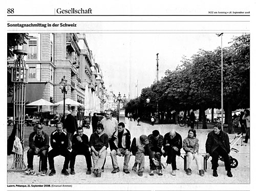NZZ am Sonntag 28.9.2008